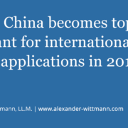 WIPO: China becomes top applicant for international patent applications in 2019